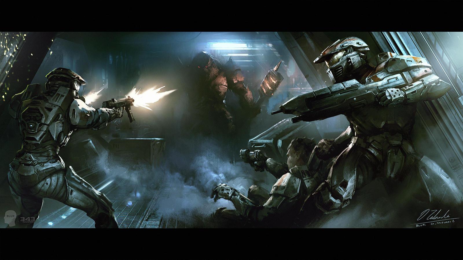 Halo wars 2 trailer escape by daroz on deviantart - Wallpaper halo wars ...