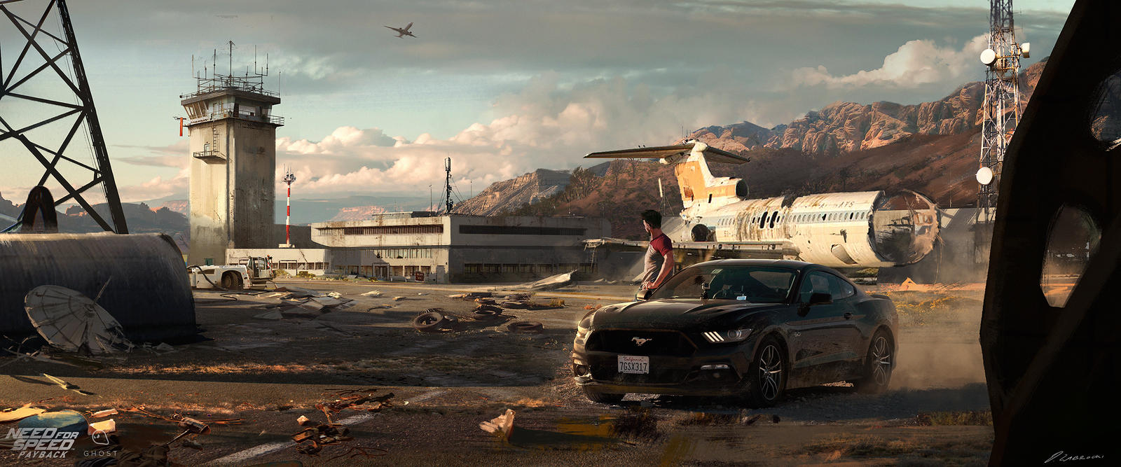 NFS:Payback Airfield Concept by daRoz