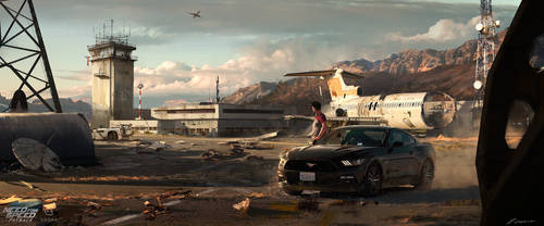 NFS:Payback Airfield Concept