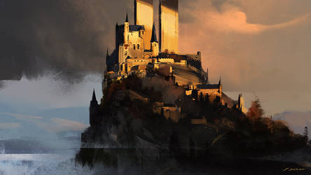 Two towers by daRoz
