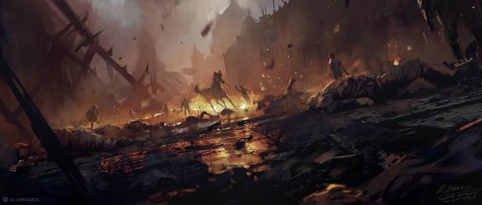 Robin Hood (2018) - Nottingham under the attack!