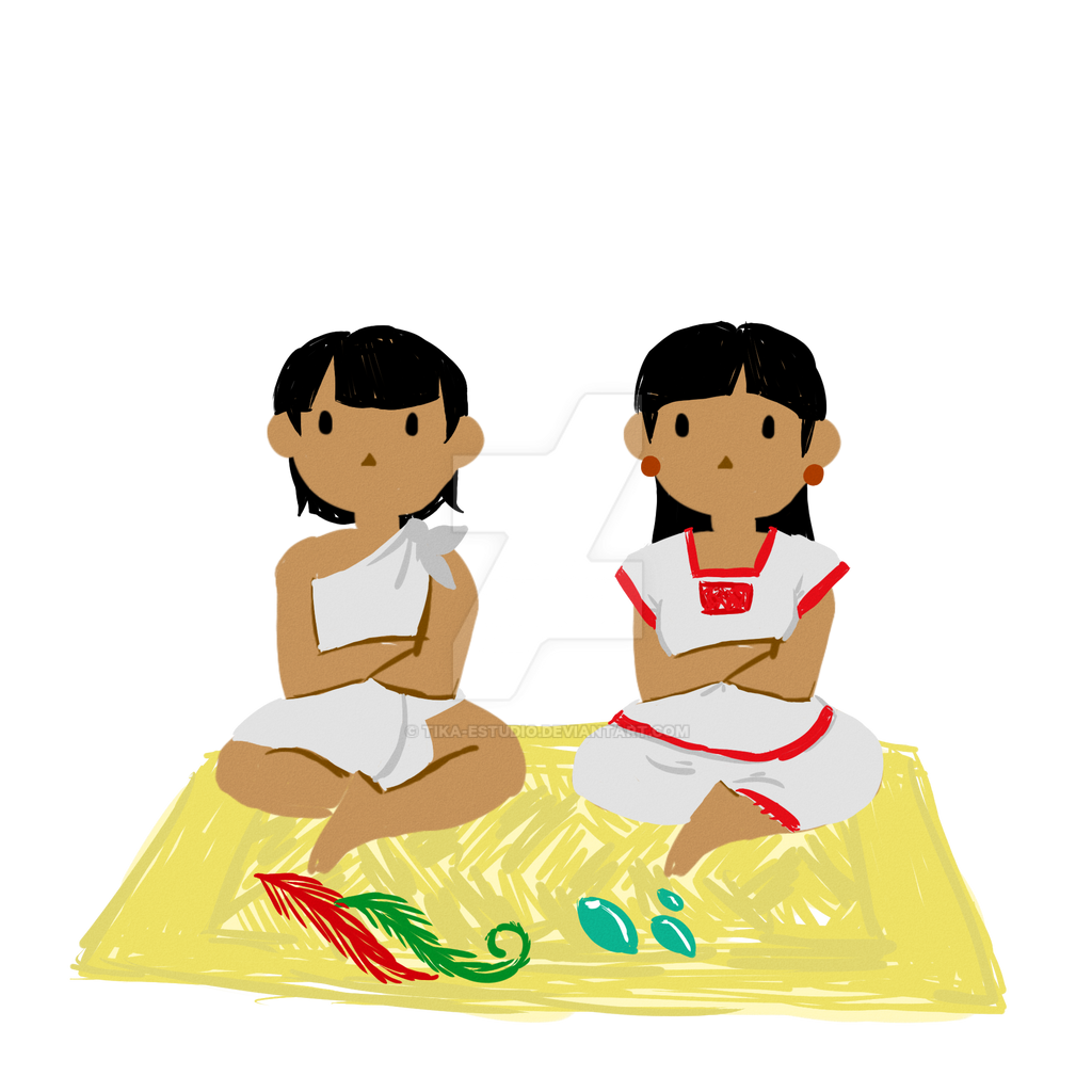Novios Aztecas by Tika-estudio