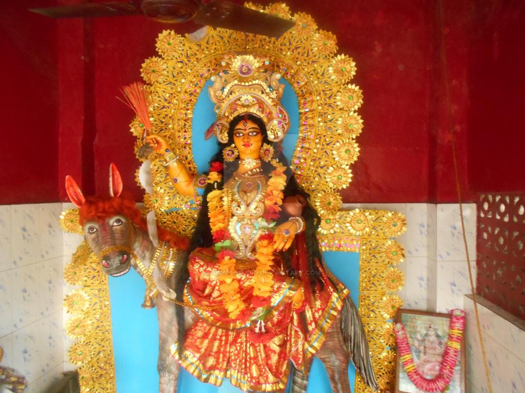 En Kolkata-Shitala Devi by Tika-estudio