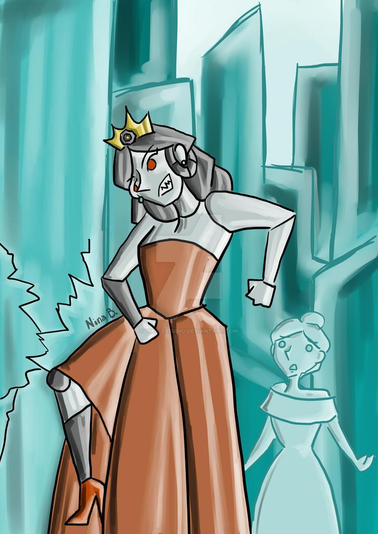 El Reino De Cristal Y La Princesa De Metal by Tika-estudio