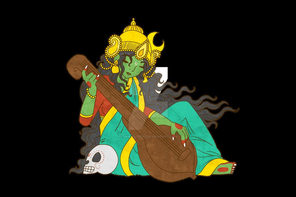 Matangi playing by Tika-estudio