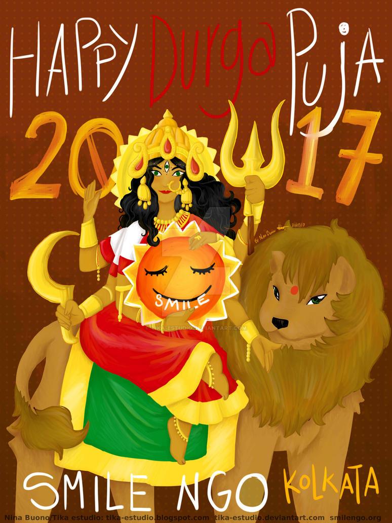 Durga Puja 2017 GIFT for SMILEngo by Tika-estudio