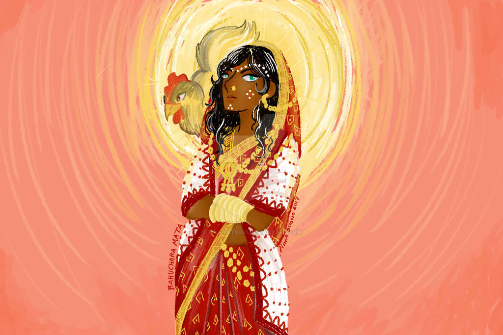 Bahuchara Mata by Tika-estudio