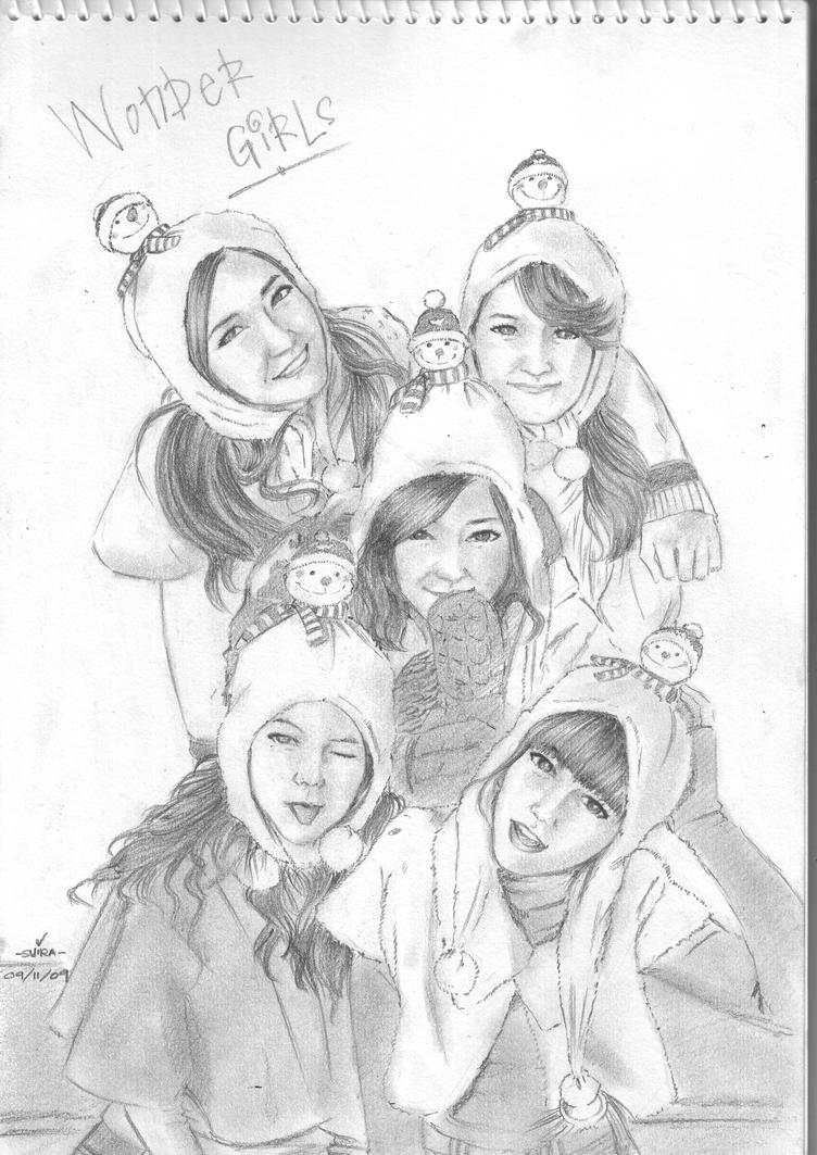 Wonder Girls by SyiraRock