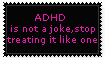 ADHD Stamp by spooksiiee