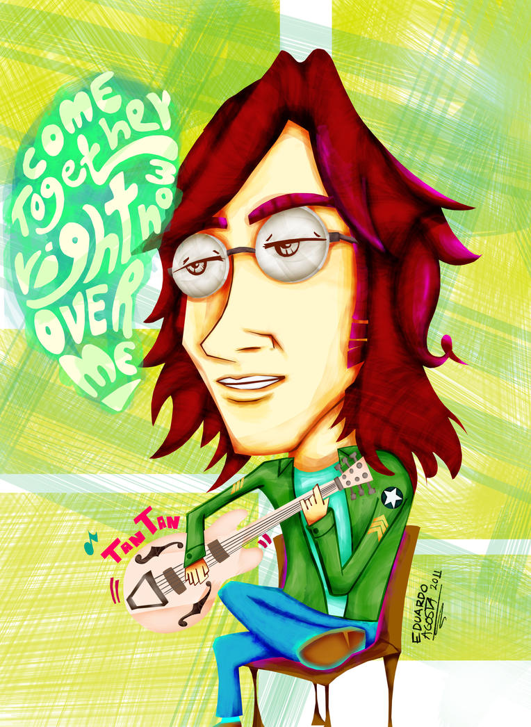 John Lennon by eL85