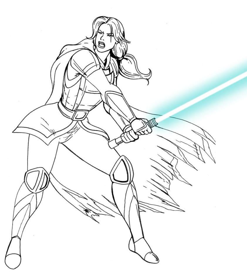 General Revan sketch 1 by JosephB222