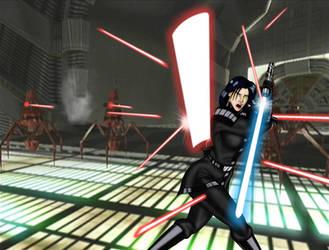 Revan vs Battle Droids by JosephB222