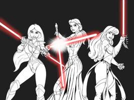Sith Princesses - preview