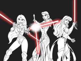 Sith Princesses - preview by JosephB222