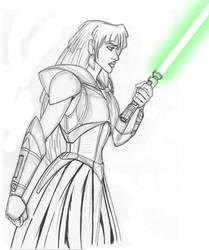 Darth Kida - rough sketch