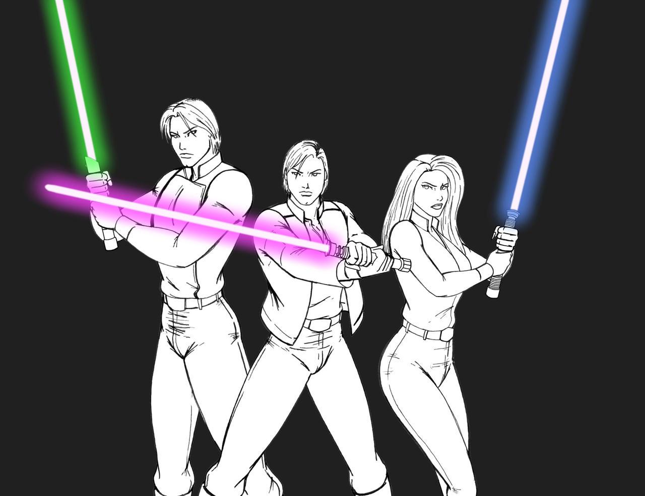 Jedi Solo - WIP by JosephB222
