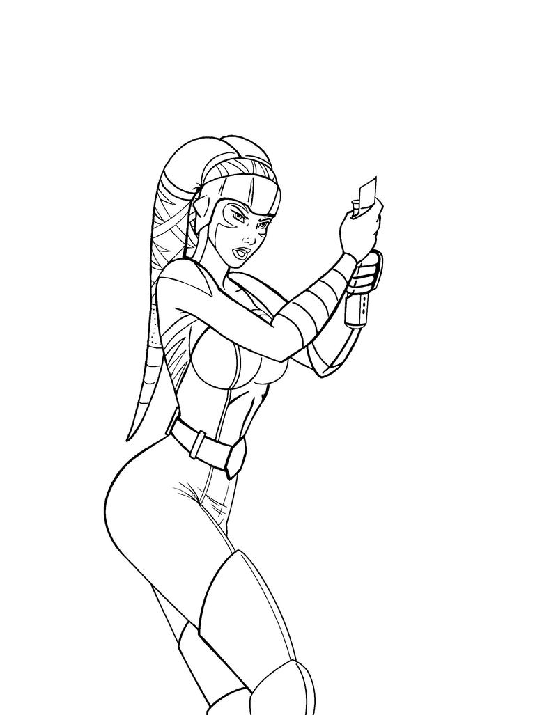 Female Jedi Coloring Pages Jedi Coloring Pages