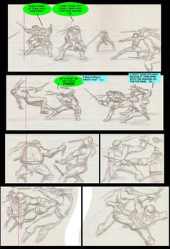 TMNT comic page 1