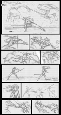 Ninja Girl comic page 1