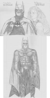 Batman movie sketchdump '89