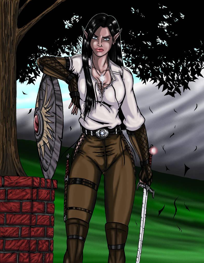 Ann J'Well - OC 2010 version