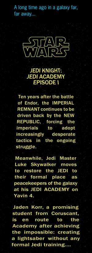 SW - Jedi Academy EP I crawl