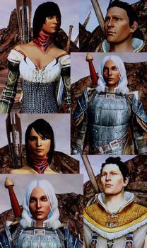 Dragon Age 2 - Hawke Family
