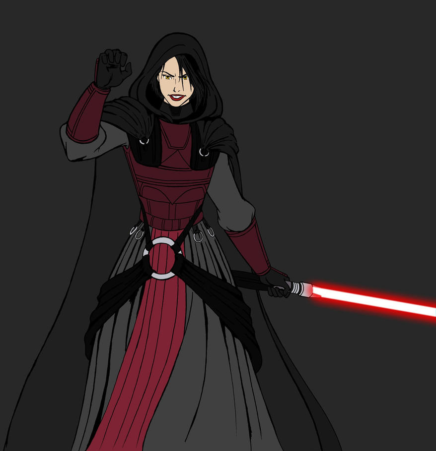 Darth Revan Downfall WIP by JosephB222