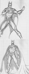 God---- Batman sketchdump 1 by JosephB222