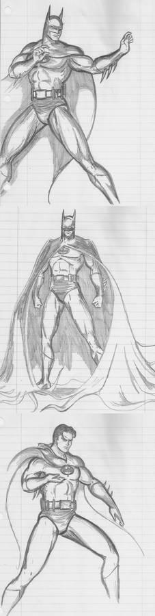 God---- Batman sketchdump 1