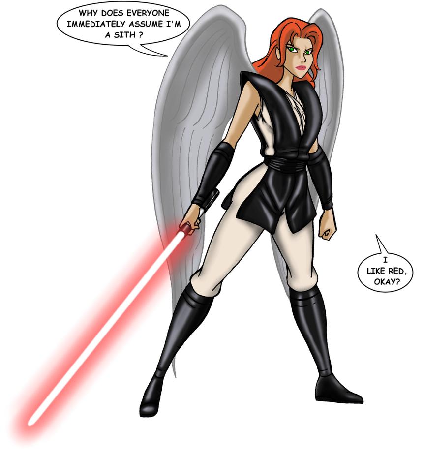 Thanagarian Jedi - Shayera Hol by JosephB222