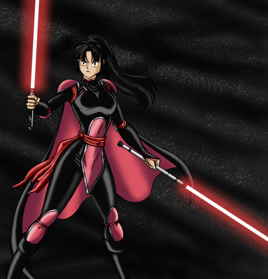Darth Sango colored by JosephB222