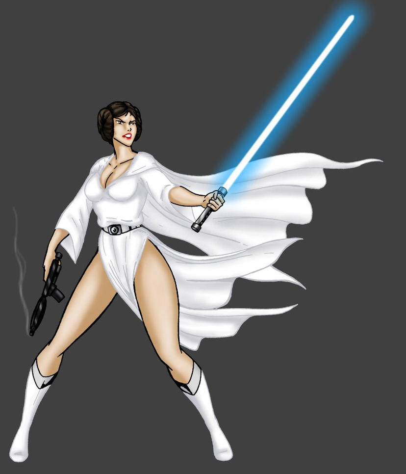 Princess Leia - rebel badass by JosephB222