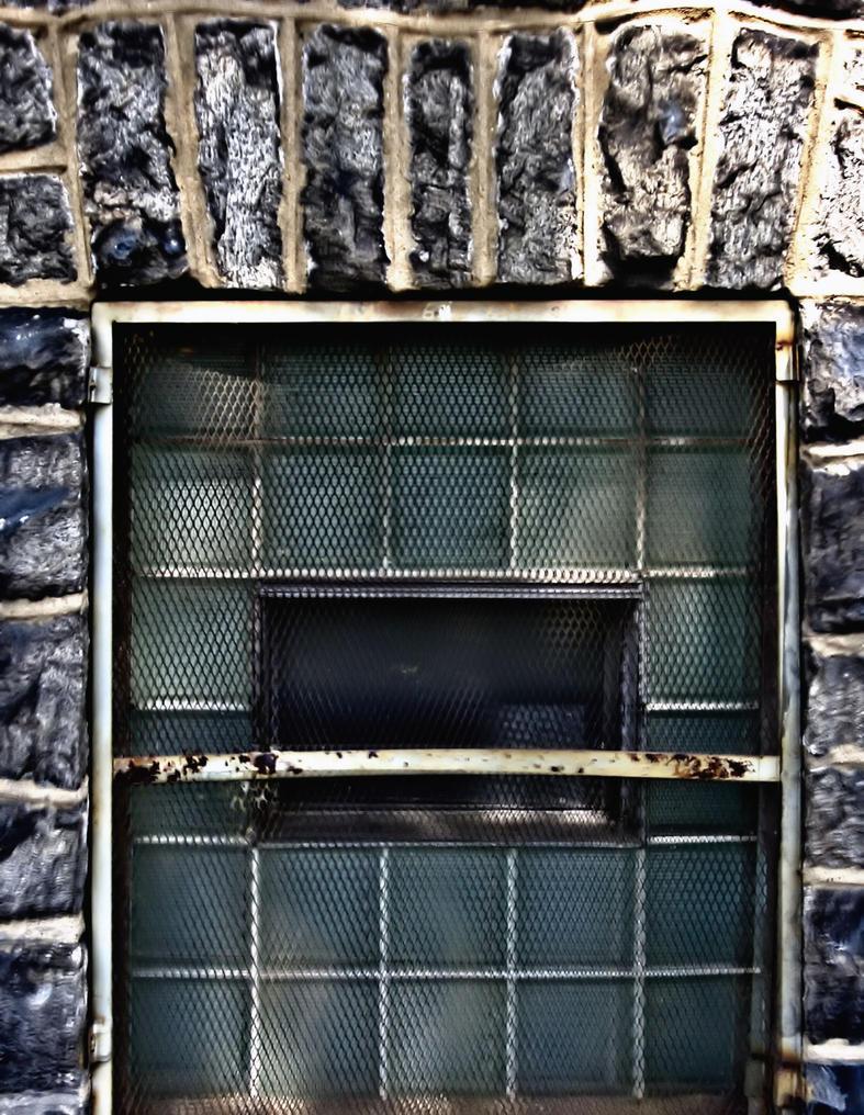 Basement Window by B9CC1D