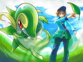 Pokemon : Go Tsutaja by Sa-Dui