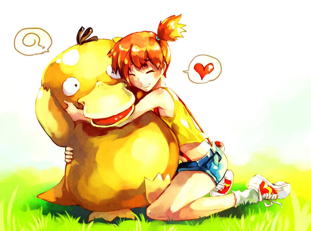 Pokemon : Misty by Sa-Dui