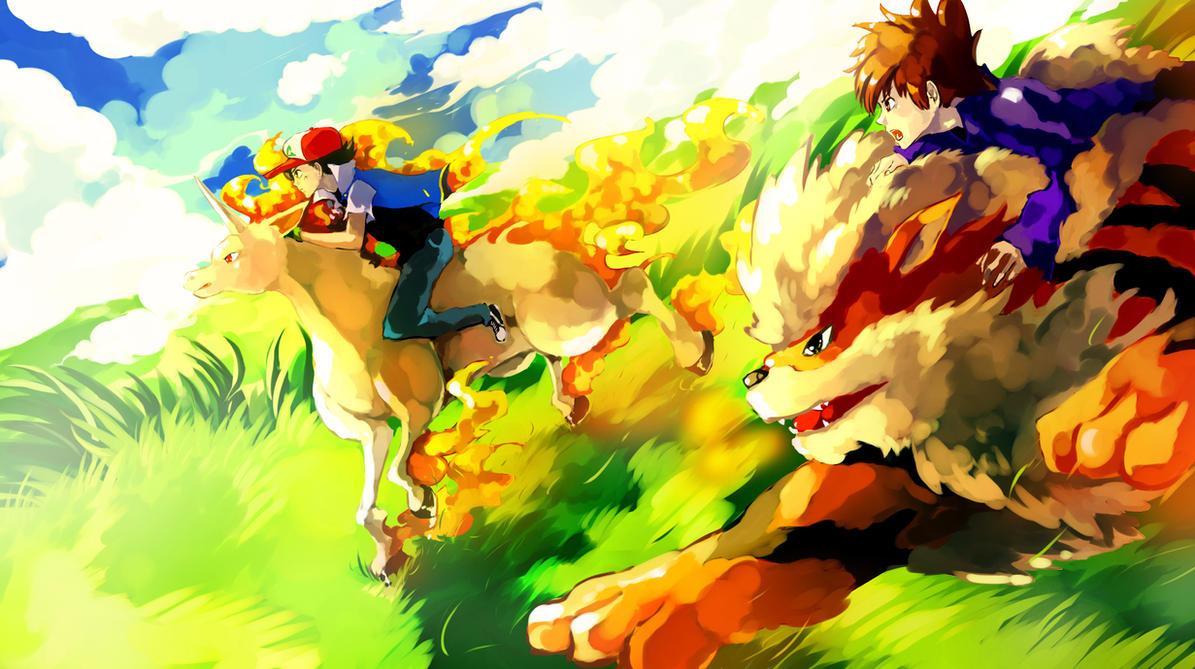 Pokemon : Extreme Race by Sa-Dui