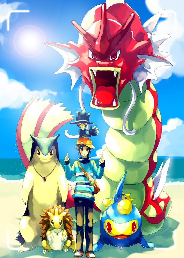 Pokemon : Cainwood souvenir by Sa-Dui