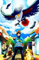 Pokemon : YAMI use Fly