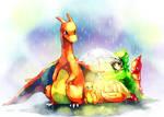 Pokemon : Under umbrella