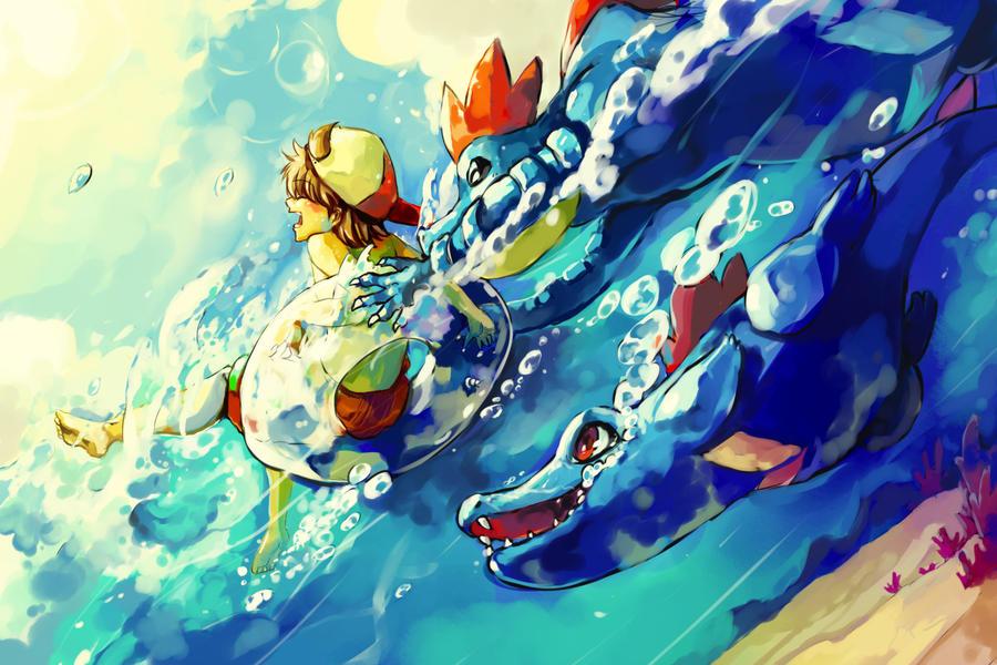 Pokemon : Surf by Sa-Dui