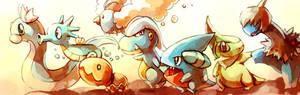 Pokemon : Baby Dragons