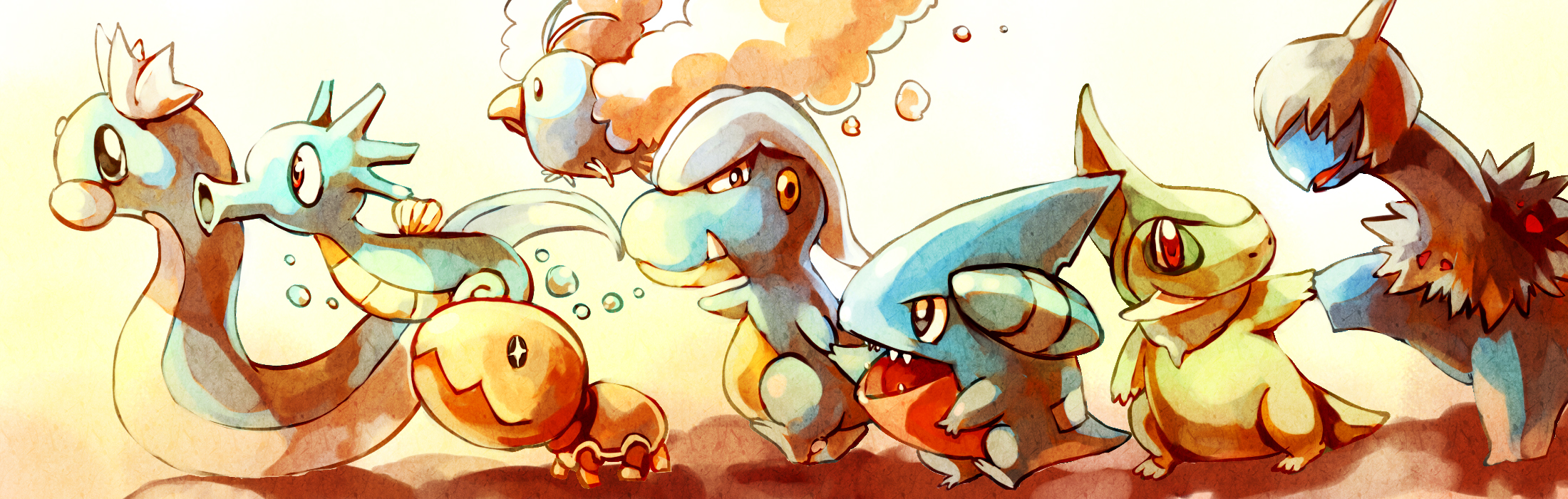 Pokemon : Baby Dragons by Sa-Dui