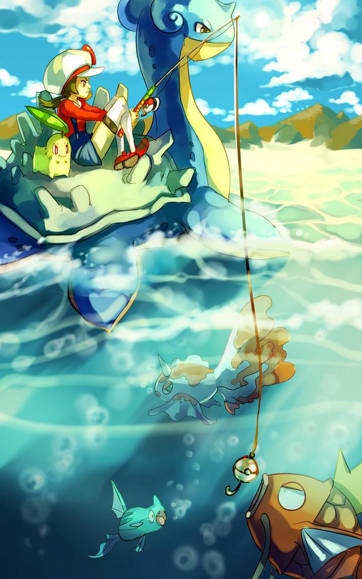 Pokemon : Fishing by Sa-Dui