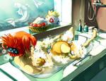 Pokemon : Bathroom