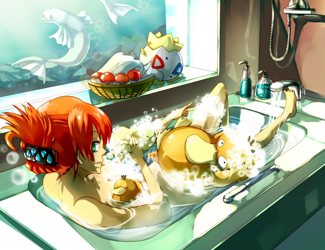 Pokemon : Bathroom by Sa-Dui
