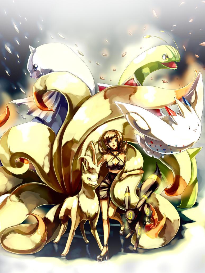 Pokemon : SoulSilver team by Sa-Dui