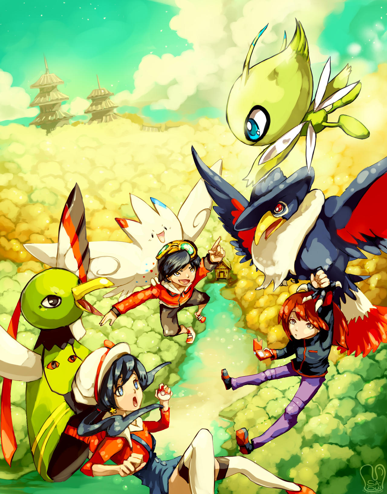 Pokemon Special : Johto Heroes by Sa-Dui