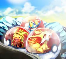 Pokemon VI : New Adventure by Sa-Dui