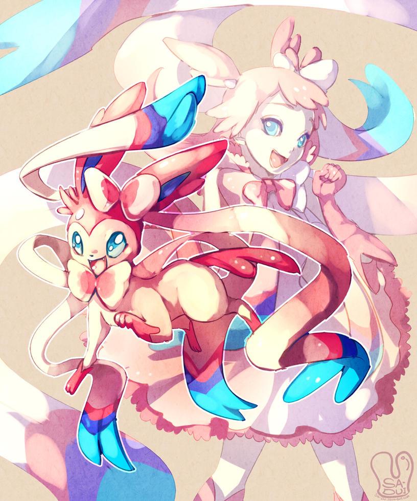 Pokemon : Ninfia by Sa-Dui